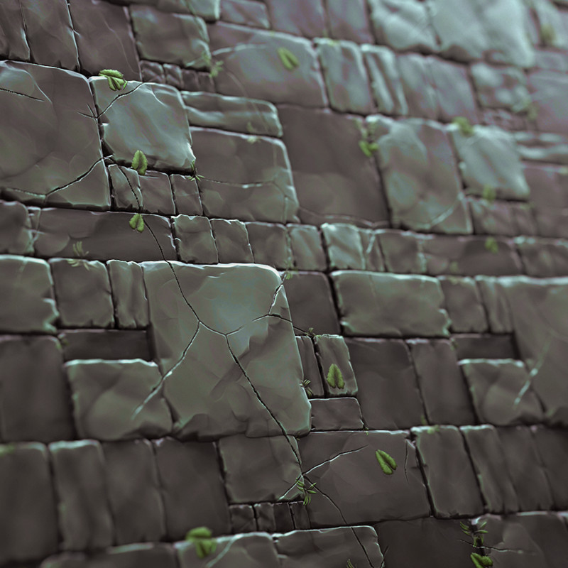 Stylized Substance Tiles