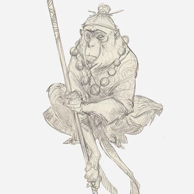 Alvaro ramirez monkey king 1