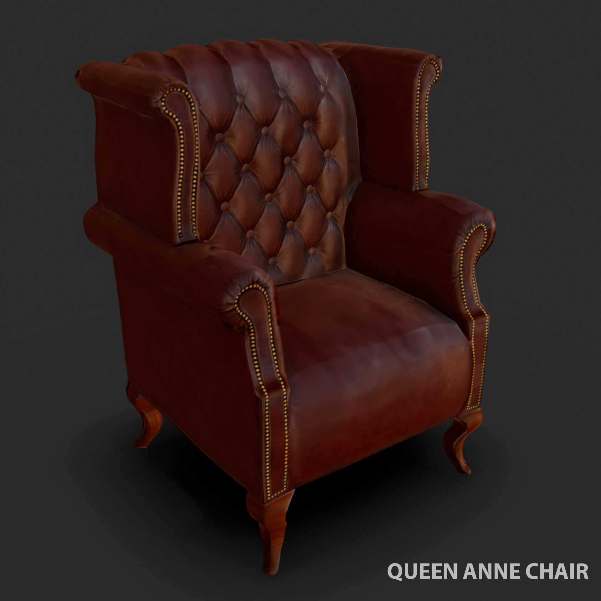 Picture of: Mareike Rieger Queen Anne Chair