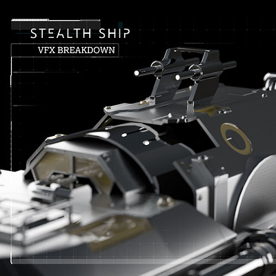 SCI FI - Stealth Ship