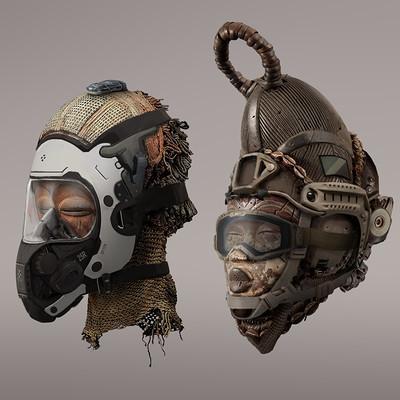Nick foreman masks group 01