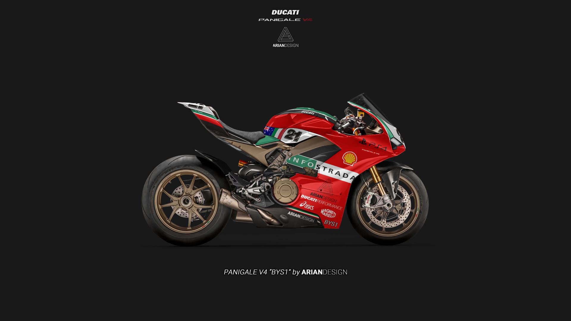 Ducati V Livery
