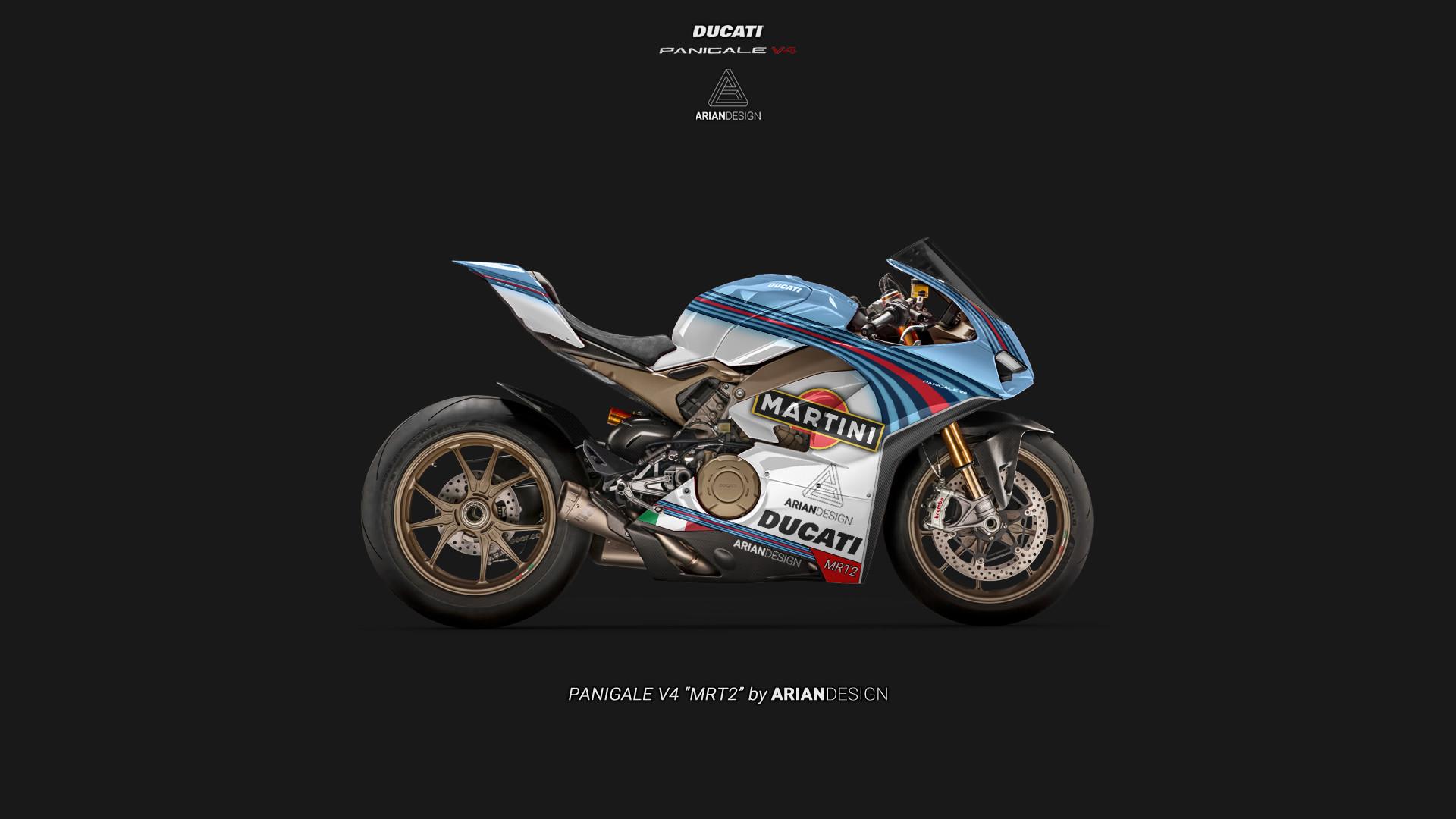 Artstation Ducati Panigale V4 Mrt2 Livery Arian Shamil