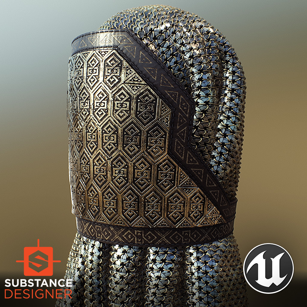 Gimli's Armour - 100% Substance Designer