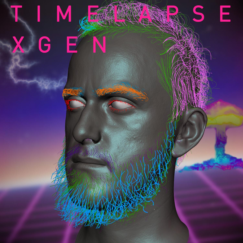 Hair Apocalypse: XGen timelapse VOL 2
