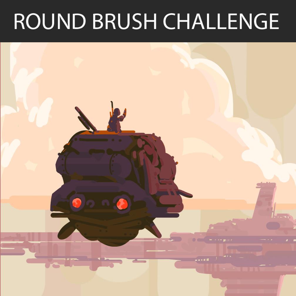 FB Round Brush Challenge