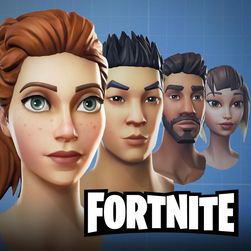 Fortnite Heads