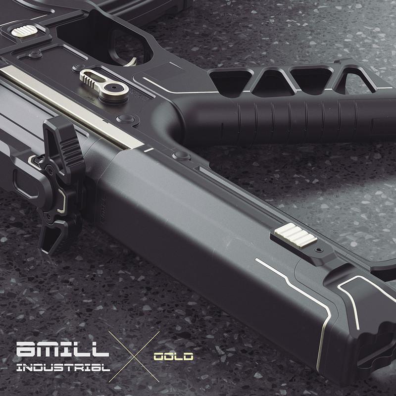 Amill Industrial X Gold - AR01