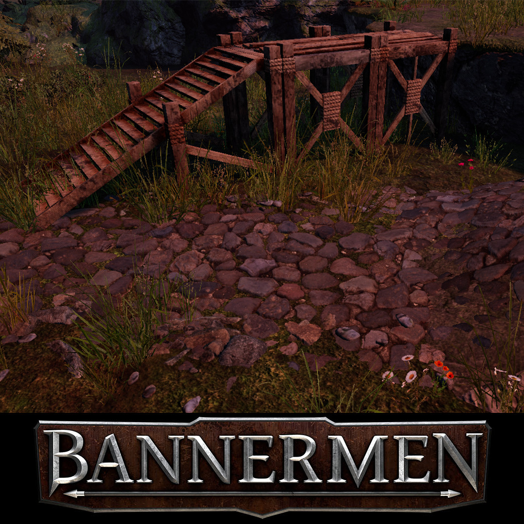 Bannermen // Wooden Staircase and Plateu