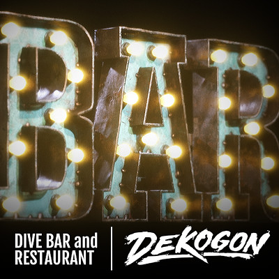 Dekogon - Large Lightup Letters
