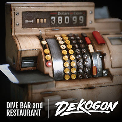 Dekogon - Cash Register