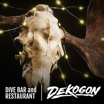 Dekogon - Wall Mounted Antlers