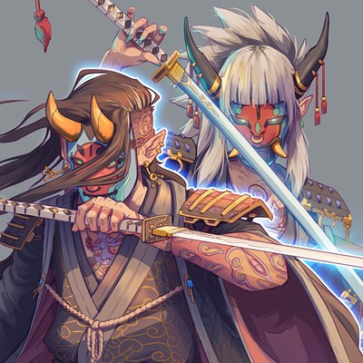 Nico fari samuraifem