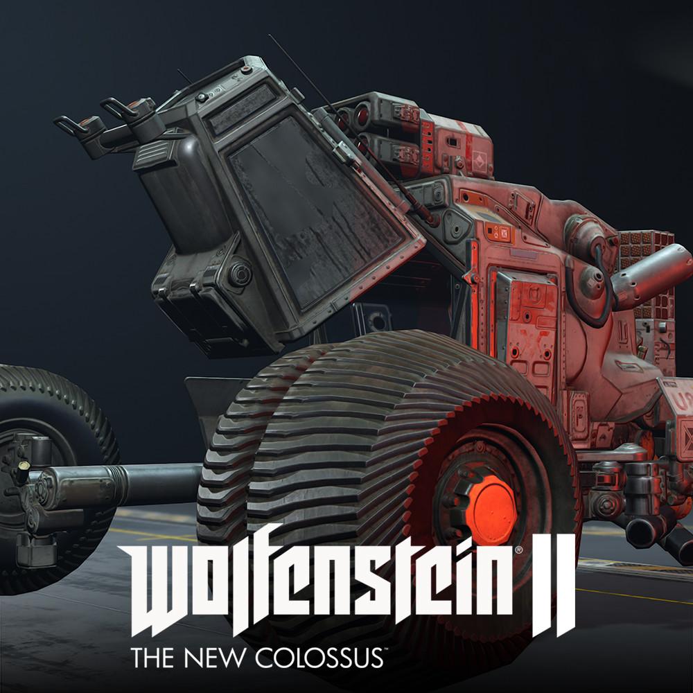 Wolfenstein II: Venus Buggy LowPoly