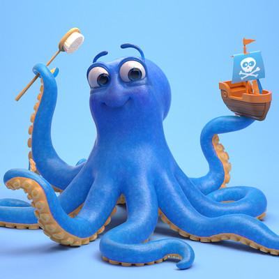 Alex liki octopus 03
