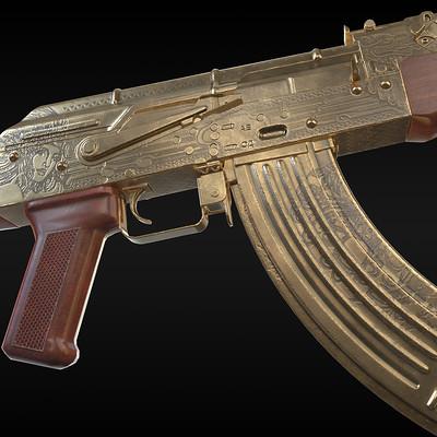 Los Zetas Cartel AK