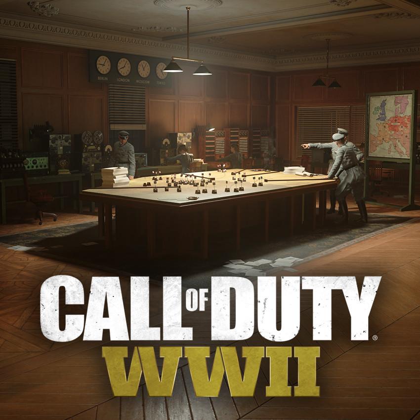 Call of Duty: WWII - Liberation - Paris Headquarters Interior
