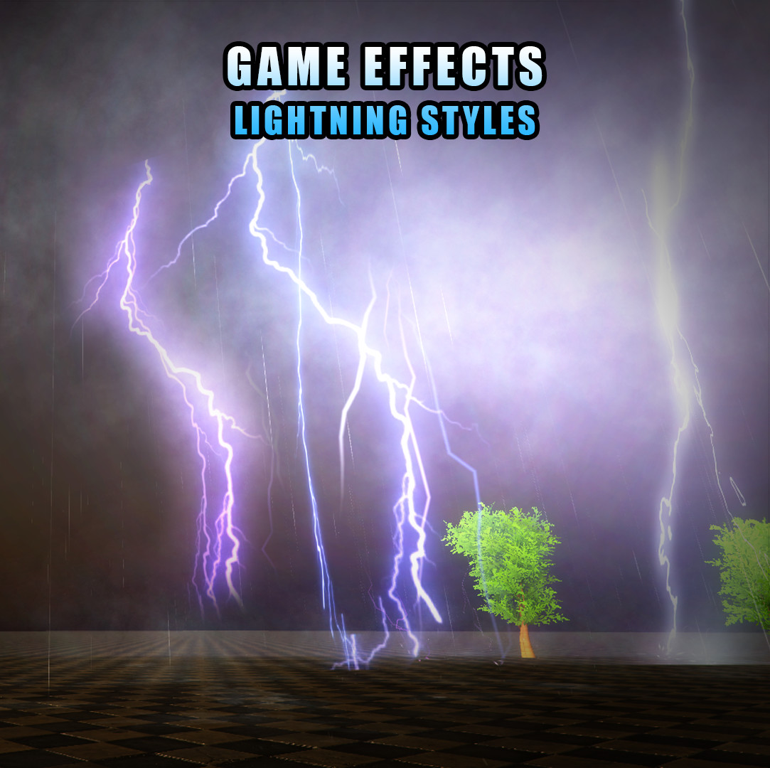 ArtStation - Unity Game VFX - Lightning and Thunder Effect