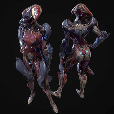 Mirage Sentience: Warframe skins