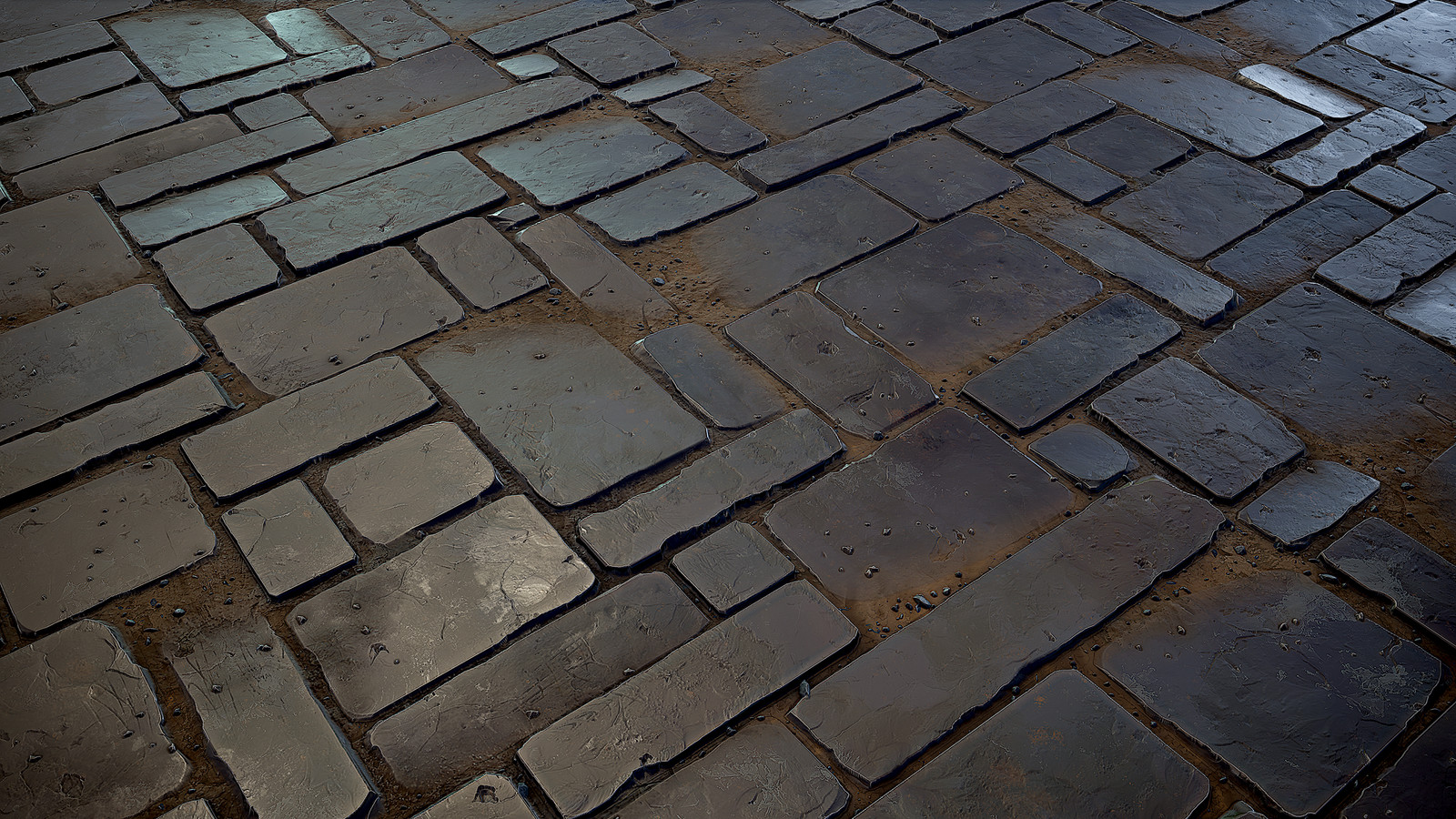 Stone Floor Tiles (Substance Designer only)
