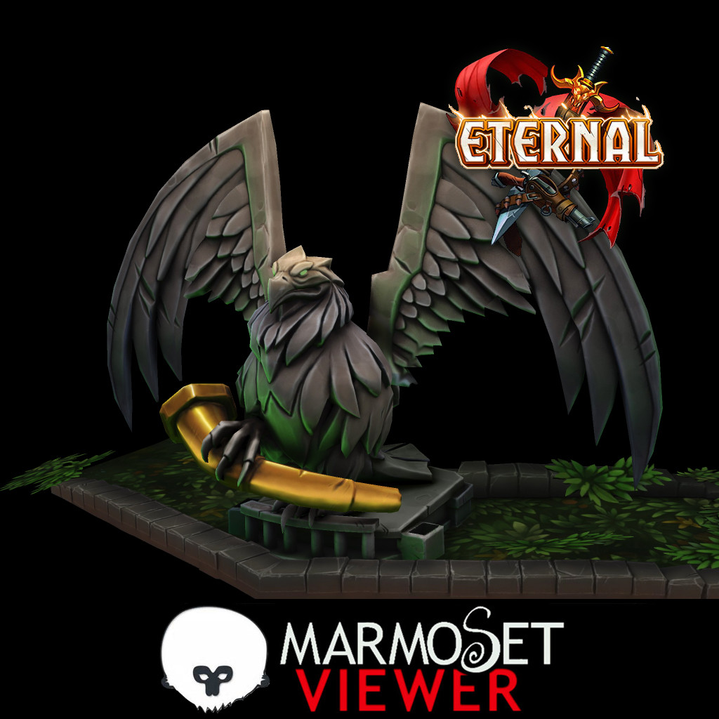 Eternal Totem Assets Marmoset Viewer