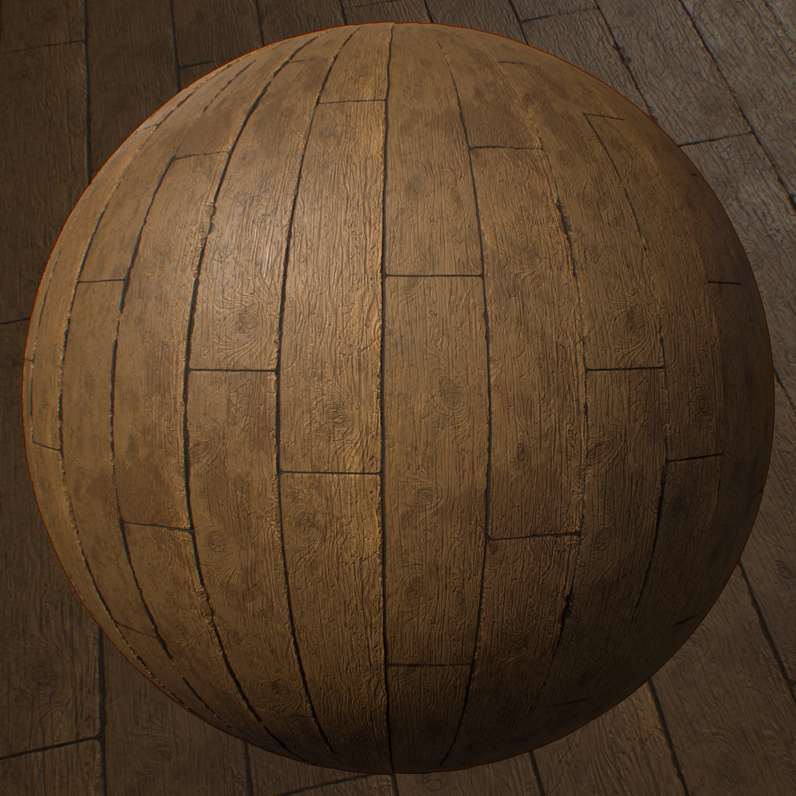 Wood Planks - Substance Designer