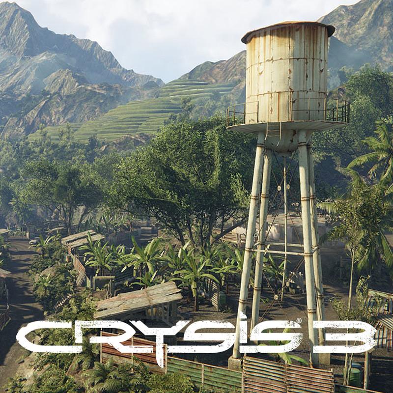 Crysis 3 - Lost Island DLC - Environment Art