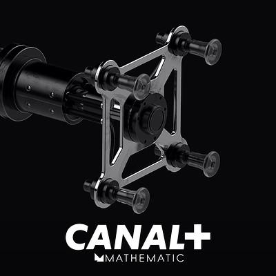 CANAL+ - Decodeur - Vacuum Plug Concept Design