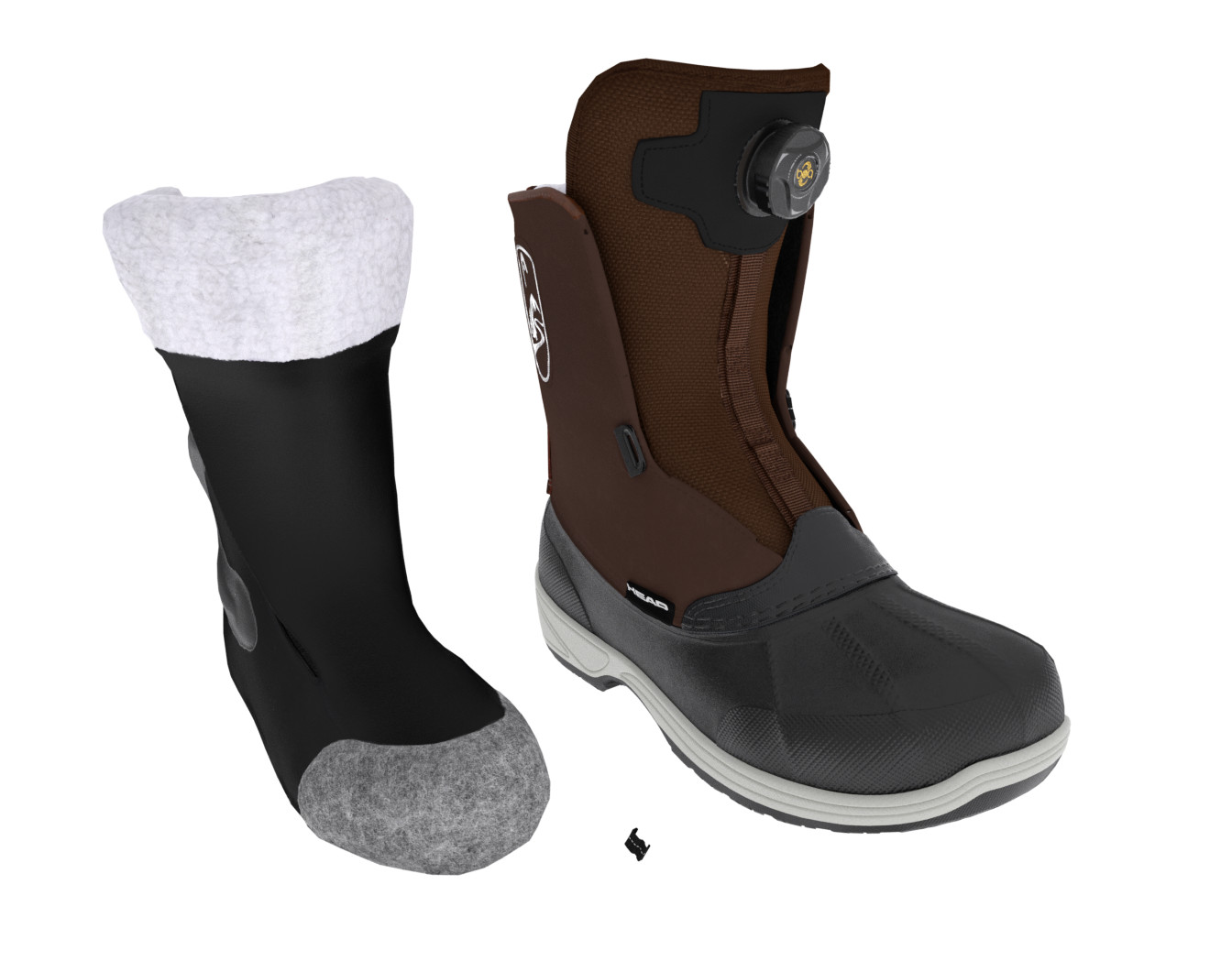Snowboard Boot Grammetry Retopo and texturing