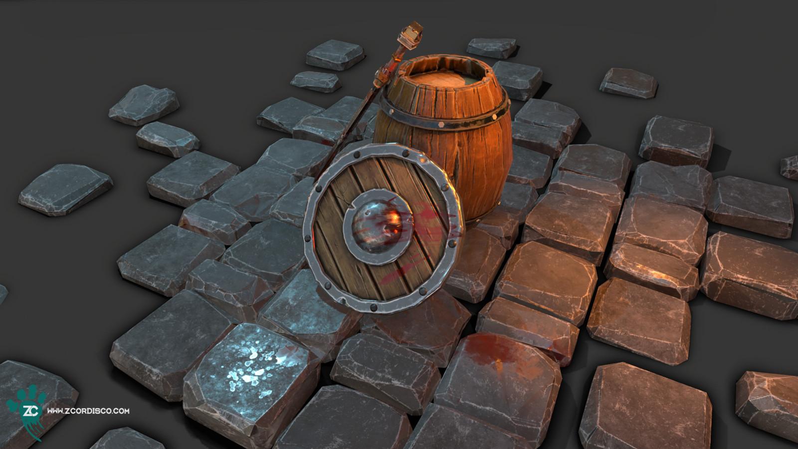 Armory Barrel Scene