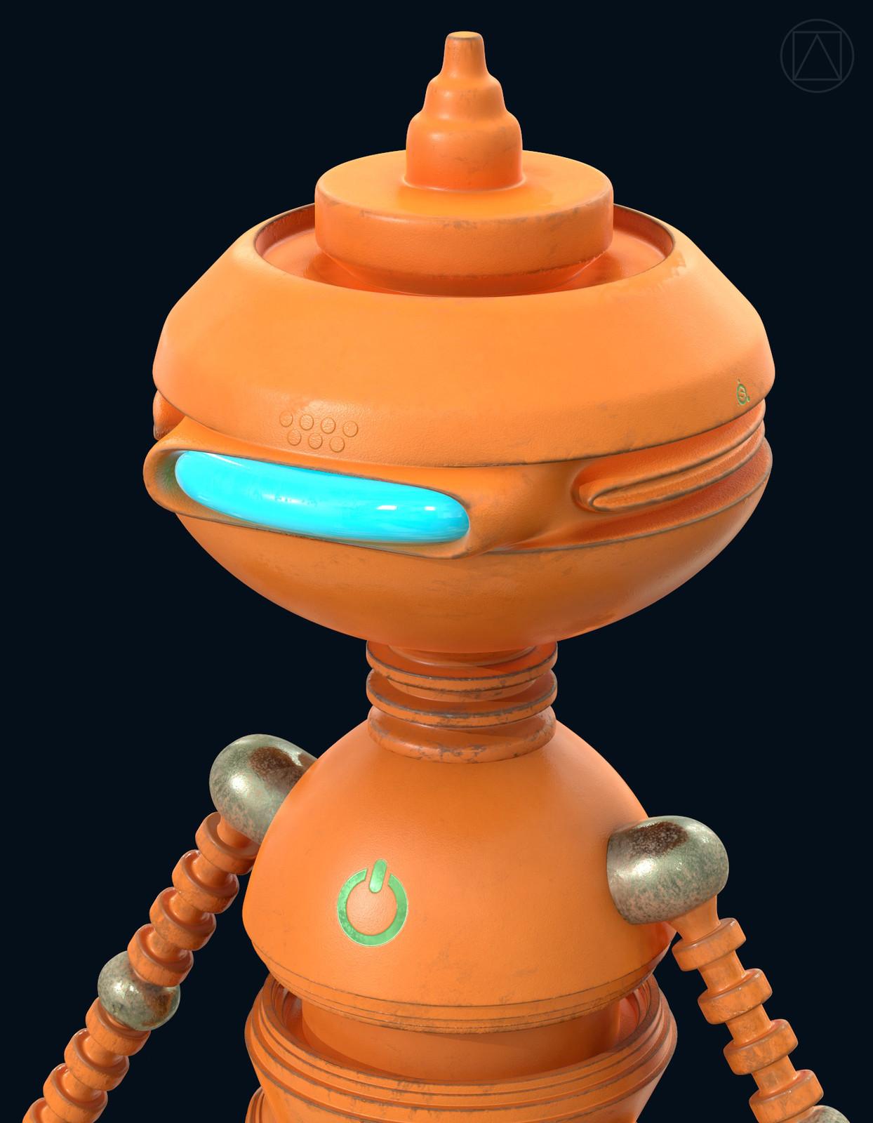 Orange robot