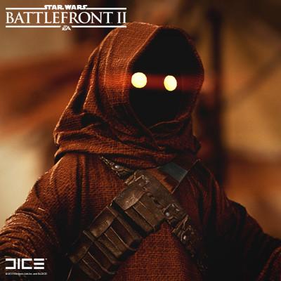 Artstation Star Wars Battlefront 2 Jawa Bjorn Arvidsson