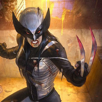 Rafael teruel marvel cover all new wolverine by rafater close up