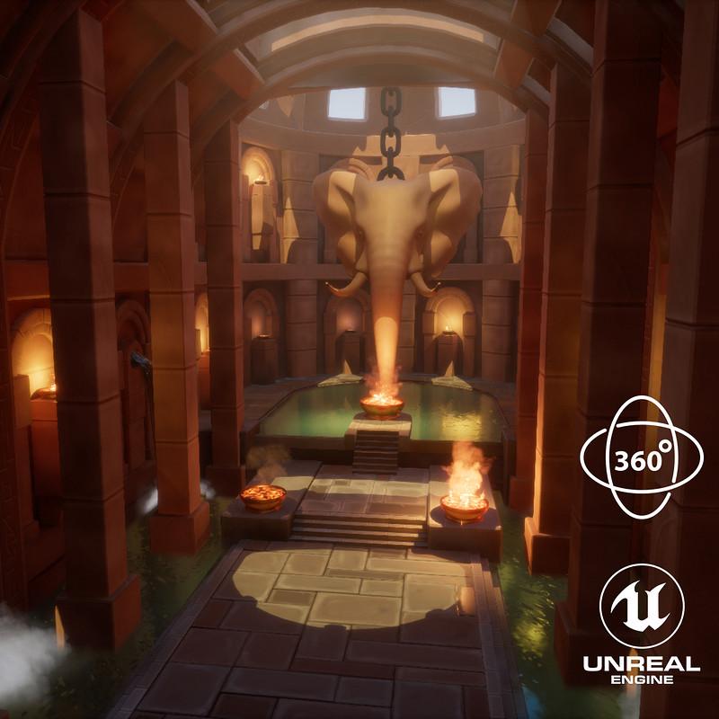 Elephant God Temple