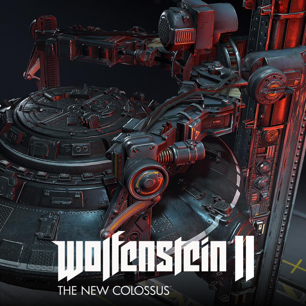 Wolfenstein 2:: UFO Crane