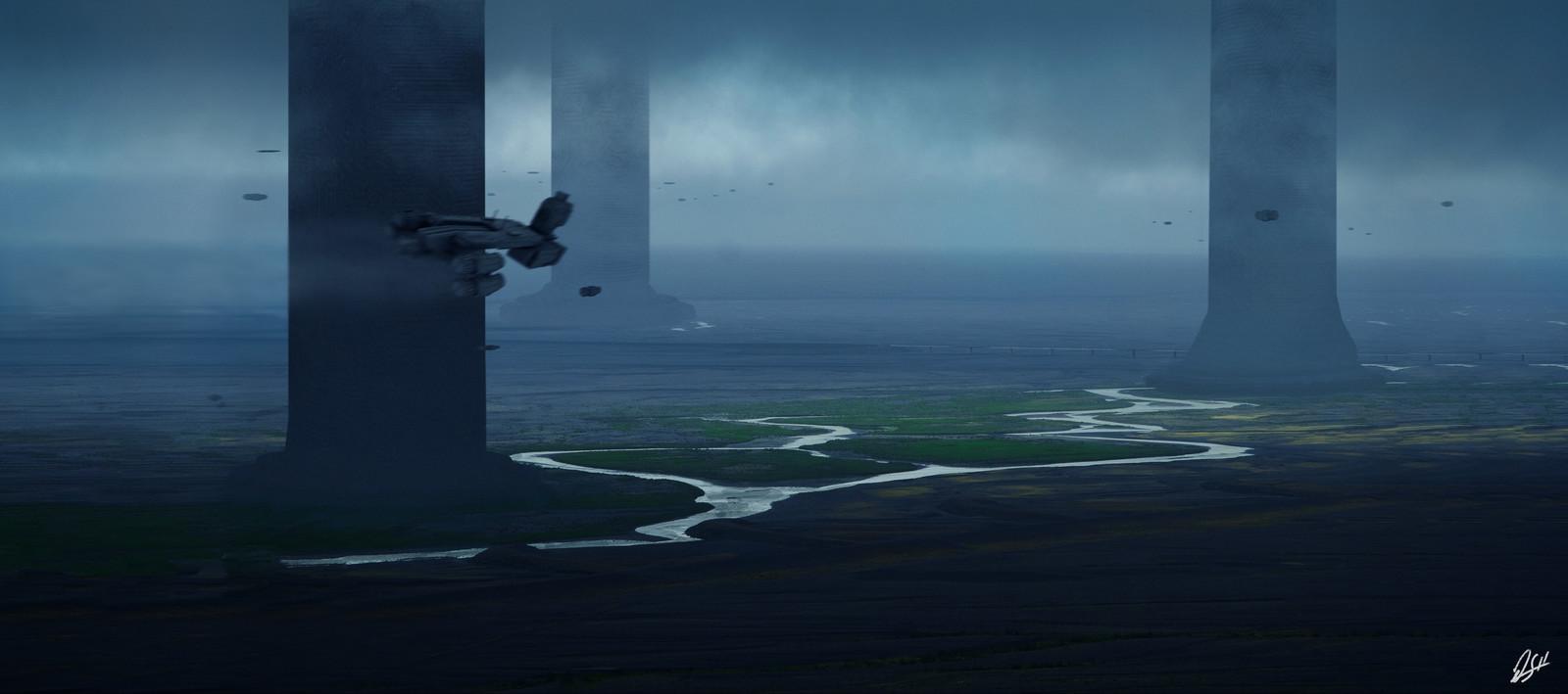 Sci-Fi Pillars