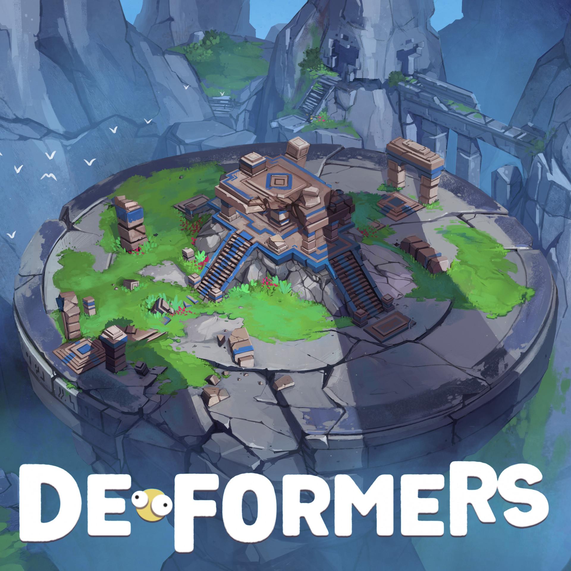 Deformers: Ruins and Desert