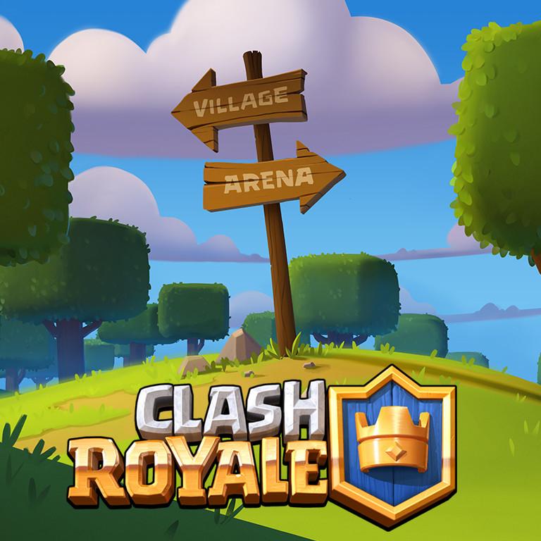 Clash Royale: Signpost