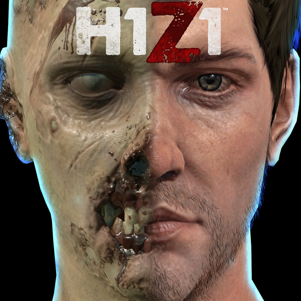 H1Z1 Player Character and Zombie Game Models