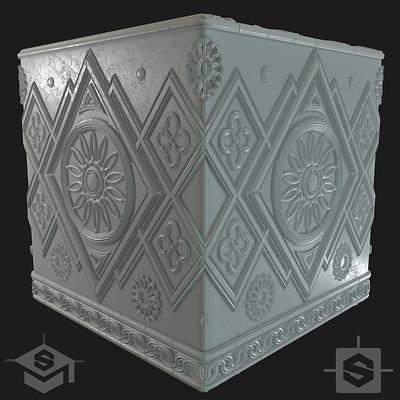 Benjamin berteau marble cube logo