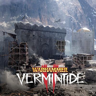 Warhammer: Vermintide 2 - Helmgart great wall