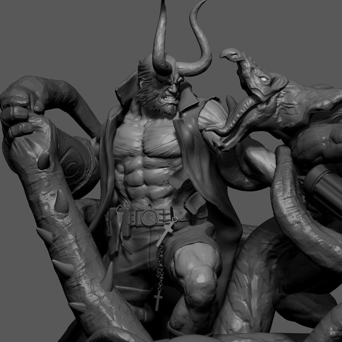 Hellboy : WIP