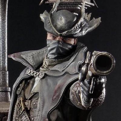 Bernardo cruzeiro prime 1 bloodborne hunter statue 008
