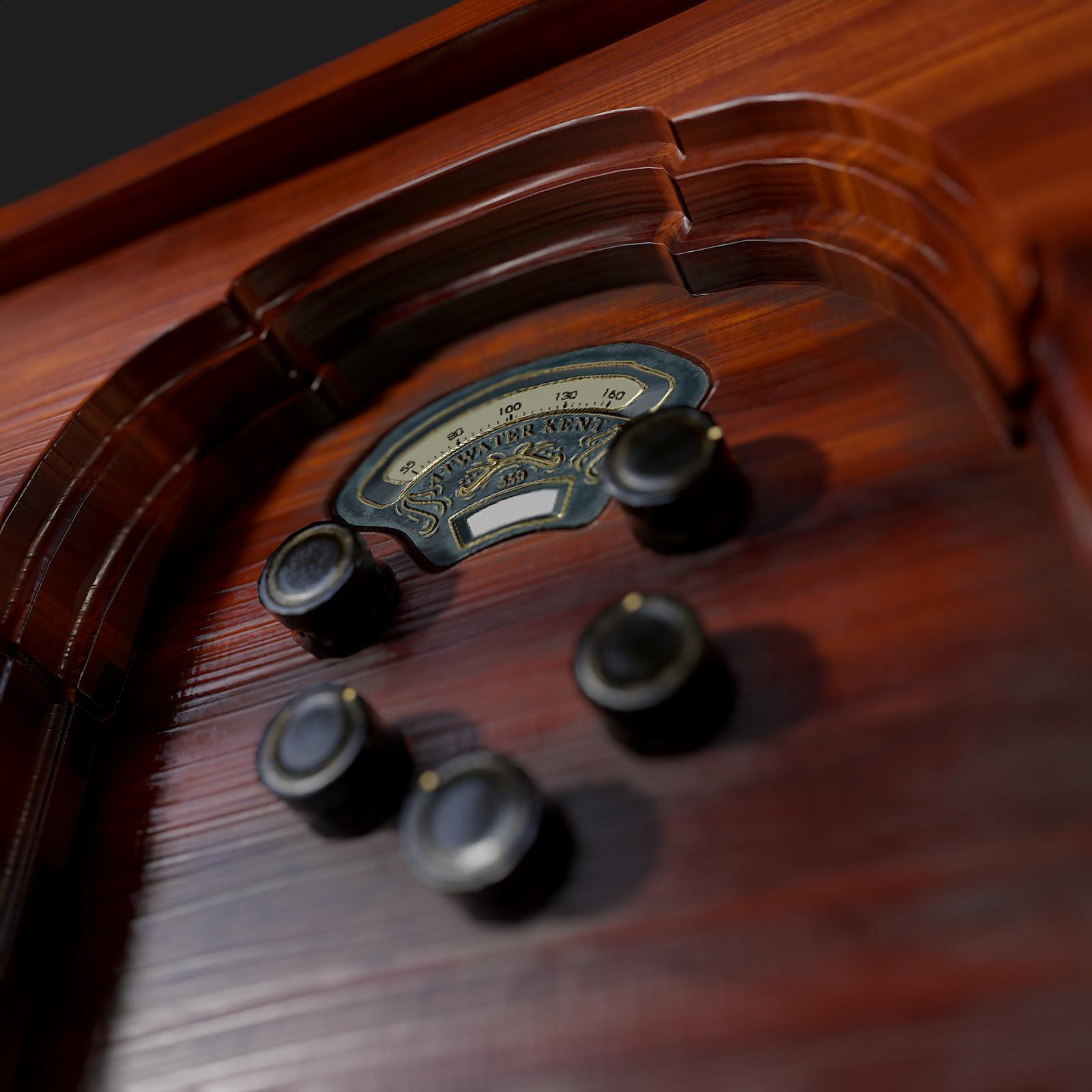 Atwater Kent vintage radio