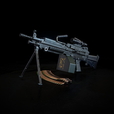 Donny yuniarto m249 cover