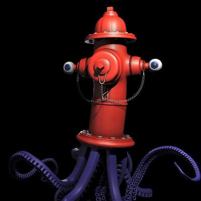 Fire Hydroctopus