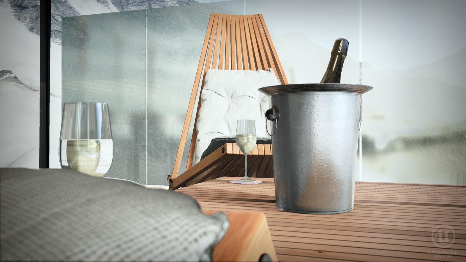 Unreal Engine - Restaurant ICE Q Solden