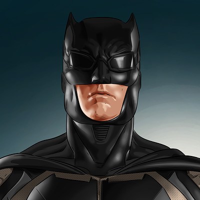 Vassilis dimitros ben affleck tactical suit batman