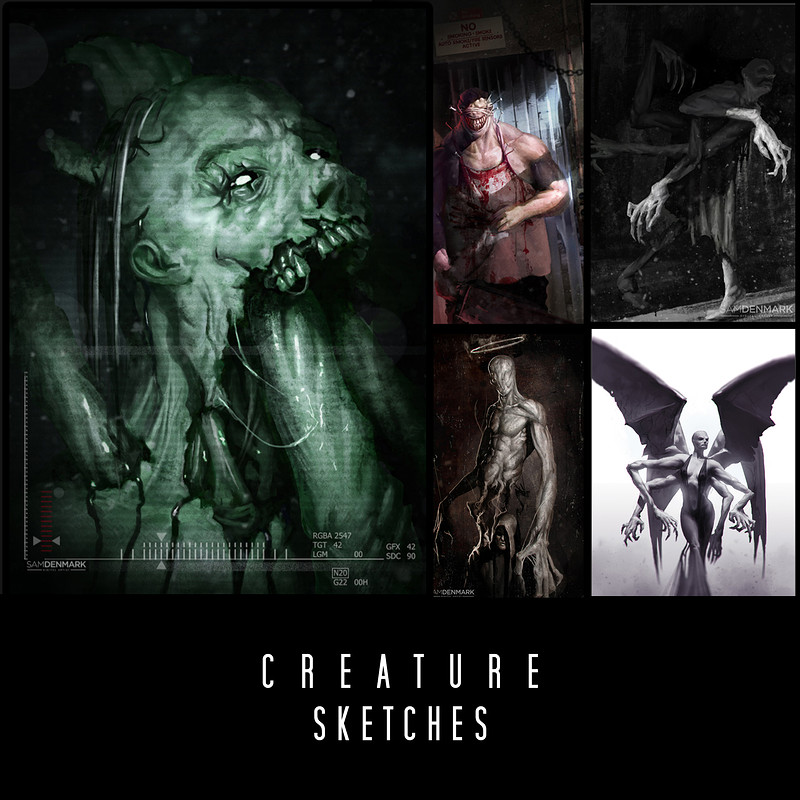 Creature Sketches