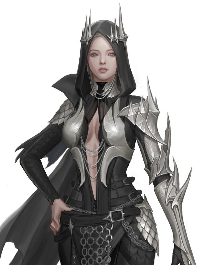 Black Desert Dark Knight Outfits